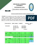 ANÁLISIS DE LA DINÁMICA ECONÓMICA