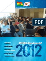 Agenda Departamental 2012