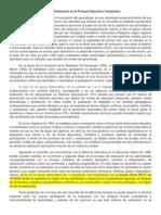 más info sobre la evaluación en venezuela