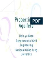 01Properties of Aquifers
