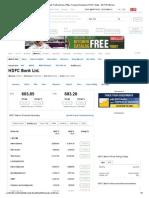 HDFC Bank_ Profit and Loss (P&L), Financial Summary of HDFC Bank - NDTVProfit