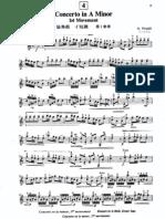Concierto en La Menor Vivaldi