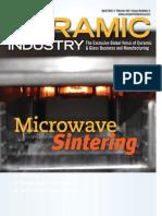 Industrial-Scale Microwave Sintering