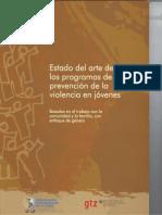 Programas de prevención de la violencia en jóvenes
