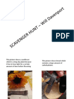 SCAVENGER HUNT – Will Davenport