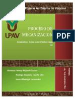 Proceso de Mecanizacion