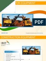 Construction Equipment - August 2013