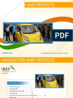 Innovation and Patents - August 2013