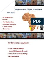 Sustainable Development in Fragile Ecosystem by Chris Brown