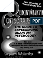 Stephen Wolinsky - Quantum Consciousness the Guide to Experiencing Quantum Psychology Editable Text OmniPage