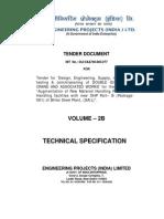 Tech Specs of EOT Crane