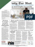The Daily Tar Heel for September 20, 2013