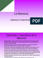 La Memoria - Aspectos Fundamentales
