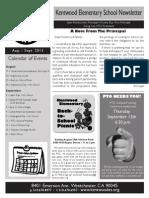2013.Aug.newsleter