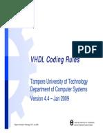 Dcs Vhdl Coding Rules Es v4 4