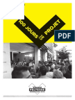 20 septembre 2013 - 100 jours pour un projet