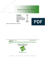 Waterless Car Wash - 245