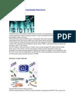 Pengertian IP Address Dan Domain Name Server
