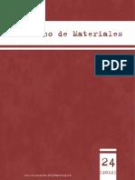 Cuaderno de Materiales 24