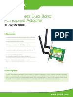 TTL-WDN3800 V1 Datasheet