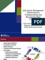 Maximizing SQL Server 2005