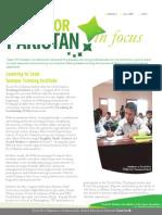 Teach for Pakistan Newsletter July Sept 1
