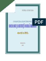 Sociologie si Asistenta Sociala Umanista. Aparitii in 2012 in CESASU, Petru Stefaroi