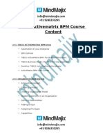 Tibco ActiveMatrix BPM Online Training institutes in hyderabad
