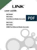 MC100CM V3 User Guide