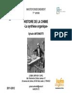 03082012204206M1 Cours Histoire de La Chimie