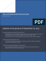 Update September 2013 - Facebook Ads and Sponsored Stories Guide