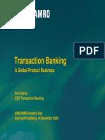 Transactions Banking