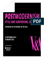 Teachers Resource Postmodernism