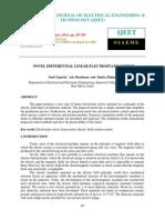 Novel Differential Linear Electrostatic Motor