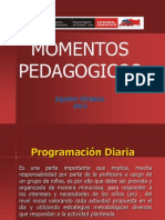 MOMENTOS PEDAGOGICOS