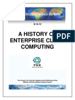 A History Of Enterprise Cloud Computing
