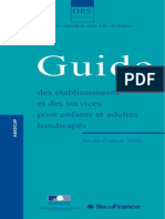 Guide Handicap 2006