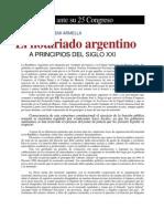 El Notariado Argentino a Principios Del Siglo XXI