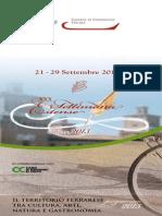 SETTIMANA ESTENSE programma 2013