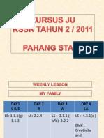 Lesson Plans - Pahang 2011