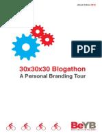 Personal Branding 30 X 30 X 30 Blogathon