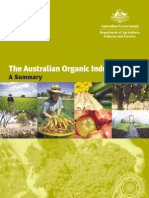 Australian Organic Industry Summary