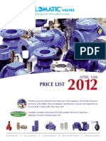 Danfoss price list for 2012