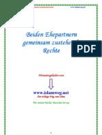 Beiden Ehepartnern Gemeinsam Zustehende Rechte - islamweg.net