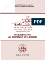 Folleto Catequesis 450 Aniversario.indd
