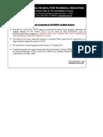 Gate-gpat Advt and Appln 070112