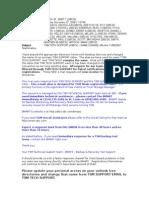 Tsm Tech Support (Inbox) - Name Change Effective 11082007