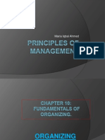 Principles of Management-Chapter 10 & 11( Organizing)