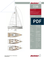 Dehler38 Specifications 0813-83b83