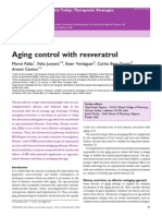 Aging Control With Resveratrol